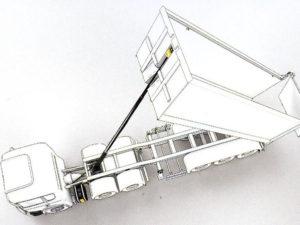 hidráulio sobre camión