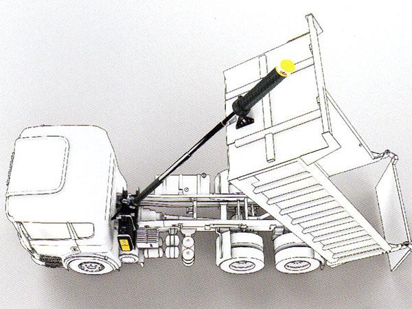 kits hidráulicos sobre camión